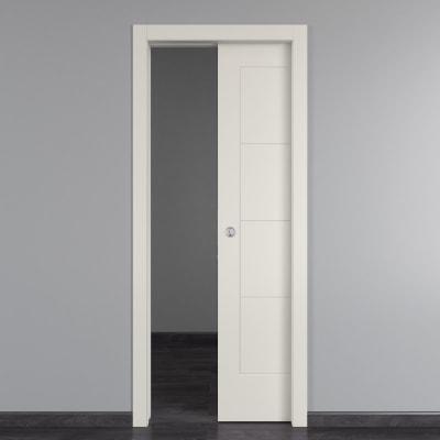 Porta da interno scorrevole Ribera 80 x H 210 cm reversibile