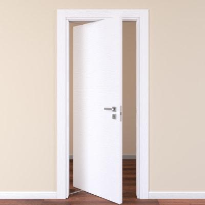 Porta da interno rototraslante Plaza frassino bianco 80 x H 210 cm sx