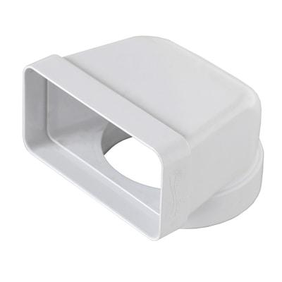 Raccordo piatto/tondo Curva verticale diametro L 6 - 12 cm