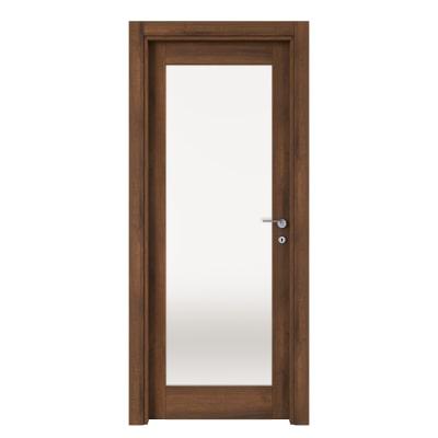 Porta da interno battente Vei noce 60 x H 210 cm sx