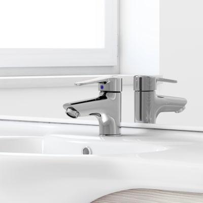 Mobile bagno Rimini larice L 75 cm
