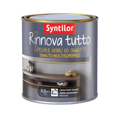 Smalto Rinnova tutto Syntilor Cacao opaco 0,5 L