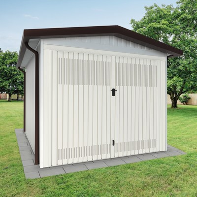 Garage in metallo Chicago, 17,2 m²