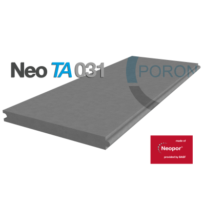 Pannello in EPS con grafite Neopor Neo TA031 L 2,85 m x H 0,6 m, spessore 40 mm