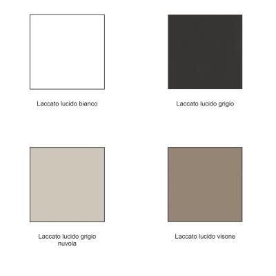 Colonna Best grigio 2 ante L 30 x H 160 x P 27 cm