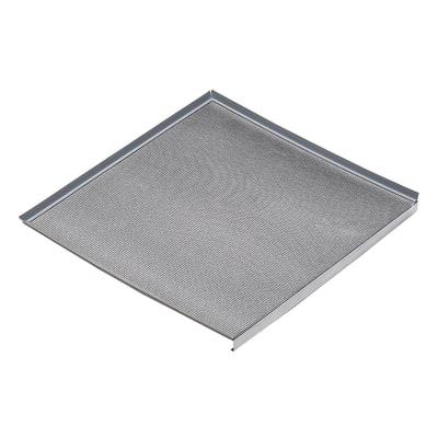 Fondo sottolavello alluminio L 116,4 x P 52,6 x H 3 cm