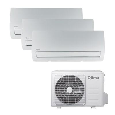 Climatizzatore fisso inverter trialsplit Qlima SM 38 MULTI 2.5 + 2.5 + 3.5 kW