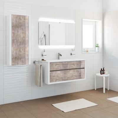 Mobile bagno Elegance bianco L 100 cm
