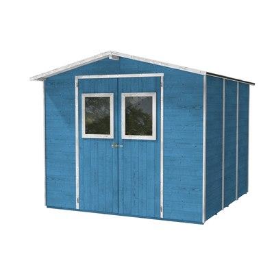 casetta in legno Vaniglia 5,64 m², spessore 19 mm