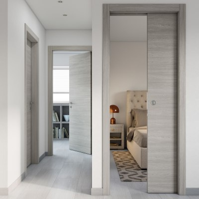 Porta da interno battente Cambridge 70 x H 210 cm reversibile