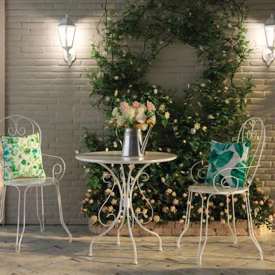 Sedia Romantic bianco