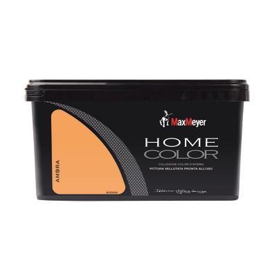 Idropittura lavabile Home Color ambra 2,5 L Max Meyer