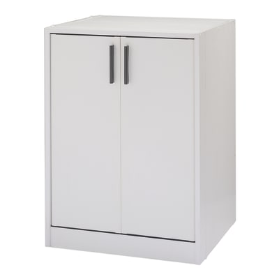 Mobile porta lavatrice STtrong CL Kit bianco L 67 x P  59,5 x H 91,5 cm