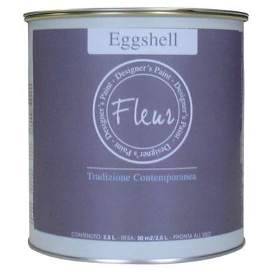 Smalto manounica Fleur Eggshell all'acqua all about Grey satinato 0.75 L