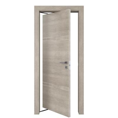 Porta da interno rototraslante Chasing rovere chiaro 70 x H 210 cm sx