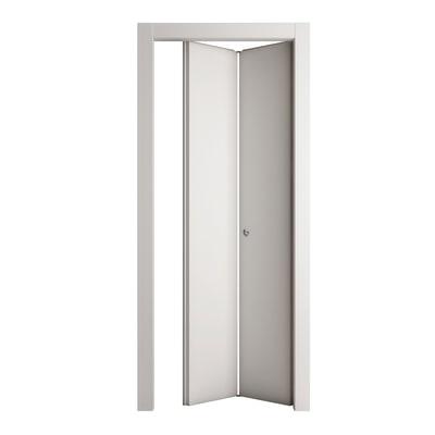 Porta da interno pieghevole Prado bianco 80 x H 210 cm dx