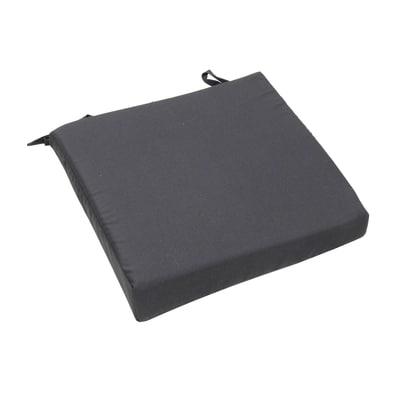 Cuscino seduta grigio 37 x 40 cm