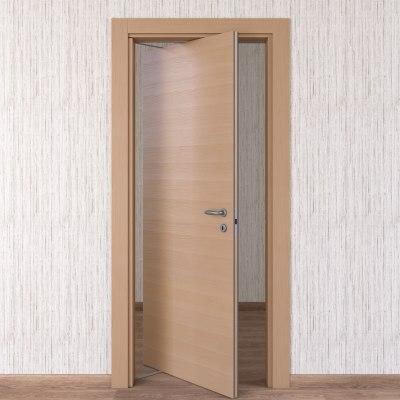 Porta da interno rototraslante Sheraton rovere naturale 80 x H 210 cm sx
