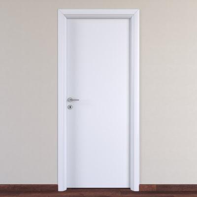 Porta da interno battente Pearl bianco 80 x H 210 cm reversibile