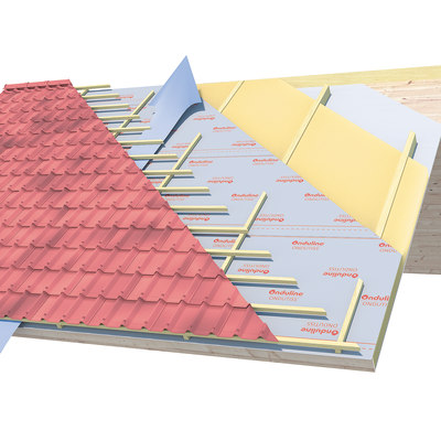 Telo traspirante Onduline 135 g/m², 1,5 x 50 m