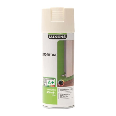 Smalto spray Termosifoni Luxens Bianco Avorio 3 satinato 0,4 L