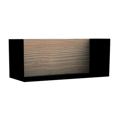 Cubo Box nero L 45 x P 18, sp 1,7 cm
