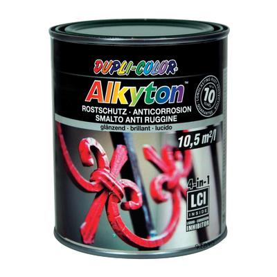 Smalto per ferro antiruggine Alkyton verde RAL 6005 brillante 0,75 L