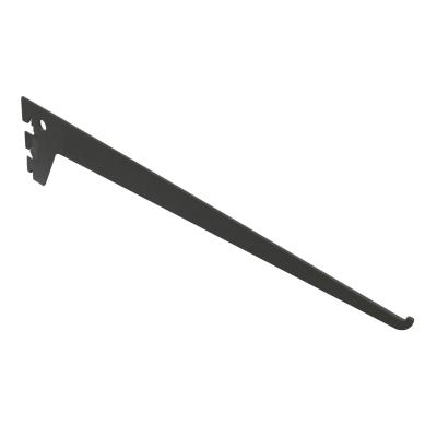 Reggimensola Element System nero L 0,3 x P 51,7 x H 12 cm