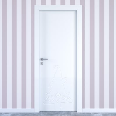 Porta da interno battente Dwarf white bianco 70 x H 210 cm dx