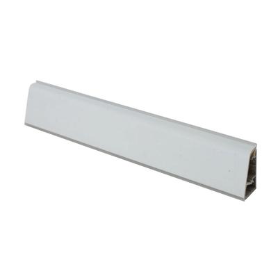 Alzatina su misura City alluminio grigio chiaro H 3 cm