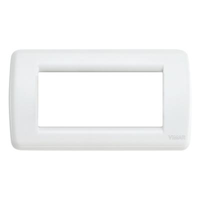 Placca 4 moduli Vimar Idea bianco