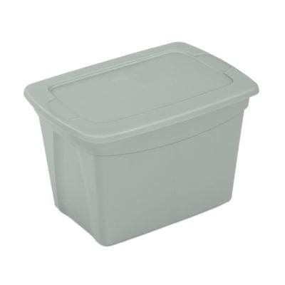 Scatola Tote Box 38 L 52 x P 36,8 x H 34 cm nickel