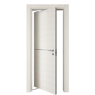 Porta da interno rototraslante Hollow bianco matrix 70 x H 210 cm sx