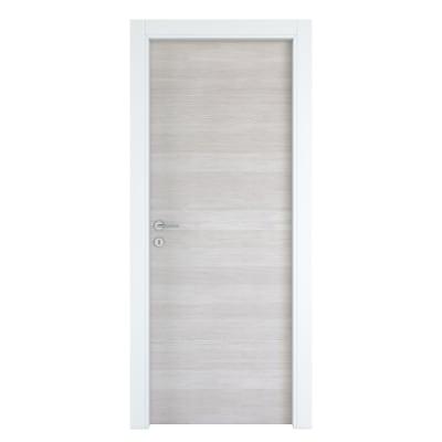 Porta da interno battente One ecru/white 60 x H 210 cm reversibile
