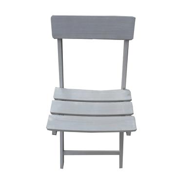 Set 2 sedie impilabile pieghevole Ostuni acacia