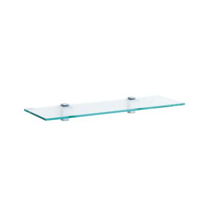 Mensola Plano trasparente L 60 x P 18, sp 0,8 cm