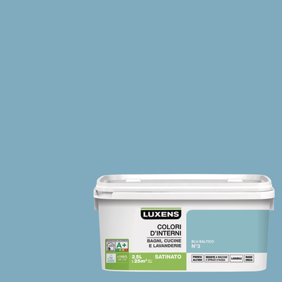 Smalto murale Blu Baltico 3 2,5 L Luxens