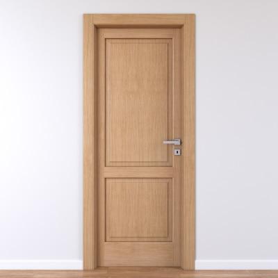 Porta da interno battente Bernini rovere miele 70 x H 210 cm sx
