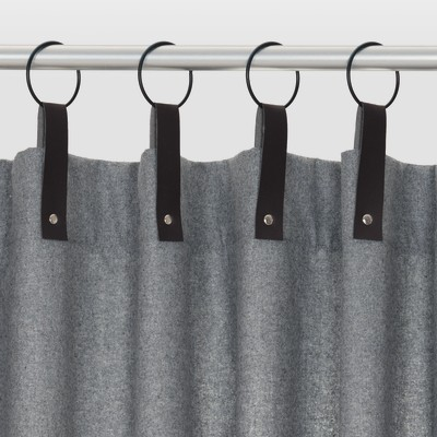 Tenda Agata grigio 140 x 280 cm