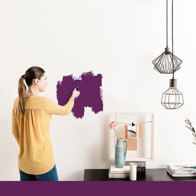 Tester idropittura murale Mano unica Giallo Anice 4 Luxens