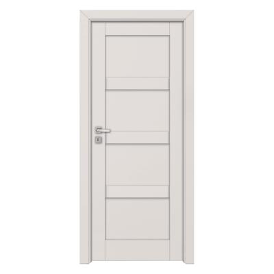 Porta da interno battente Sati bianco 80 x H 210 cm sx