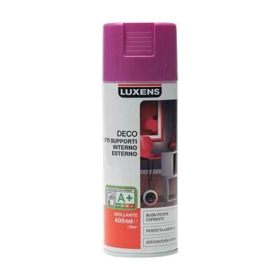 Smalto spray Deco Luxens Viola Melanzana 3 brillante 400 ml