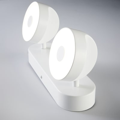 Barra a 2 luci Inspire Jino bianco LED integrato