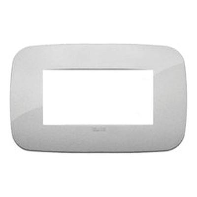 Placca 4 moduli Vimar Arké silver