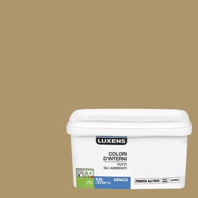 Idropittura lavabile Mano unica Oro - 2,5 L Luxens