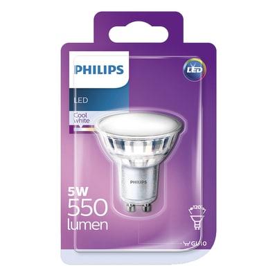 Lampadina LED Philips GU10 =50W luce naturale 120°