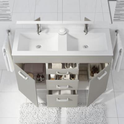 Mobile bagno Opale ecrù L 120 cm