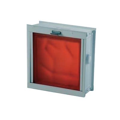 Telaio basculante per 1 vetro 2 pz 23 x 21,6 x 8,8 cm