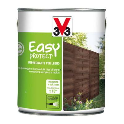 Impregnante ad acqua V33 Easy Protect noce naturale 2,5 L