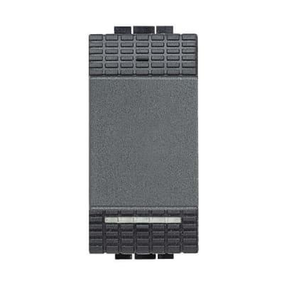 Deviatore 16A 1P Illuminabile BTicino Livinglight antracite